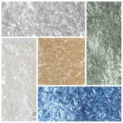 EGW Eco-glitter PURE Jumbo Chunky set van 5 kleuren