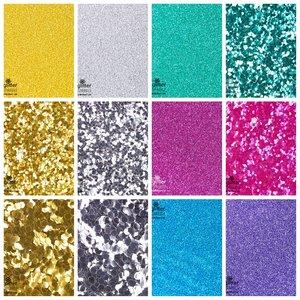 EcoGlitterWorld Eco-glitter SPARKLE set van 12 kleuren
